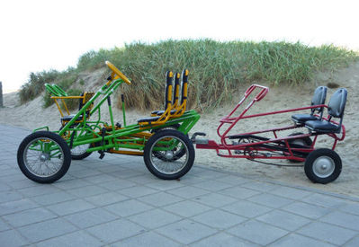 Fietsenverhuur BB-Bikes - Nieuwpoort - Gocarts